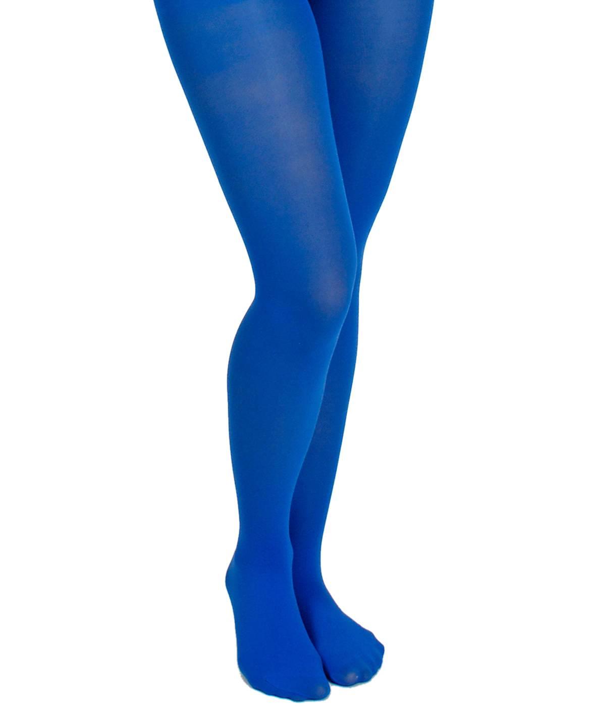 Collant-bleu-femme-XL