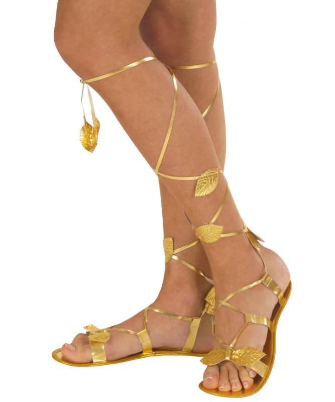 Sandales-or