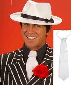 Cravate-blanche