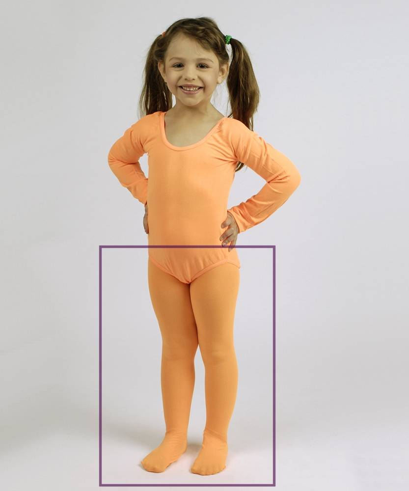 Collant-Orange-Enfant-2