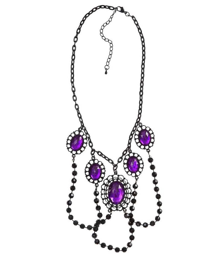 Collier-gothique-noir-et-violet