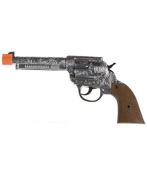Pistolet-Cowboy-Argent