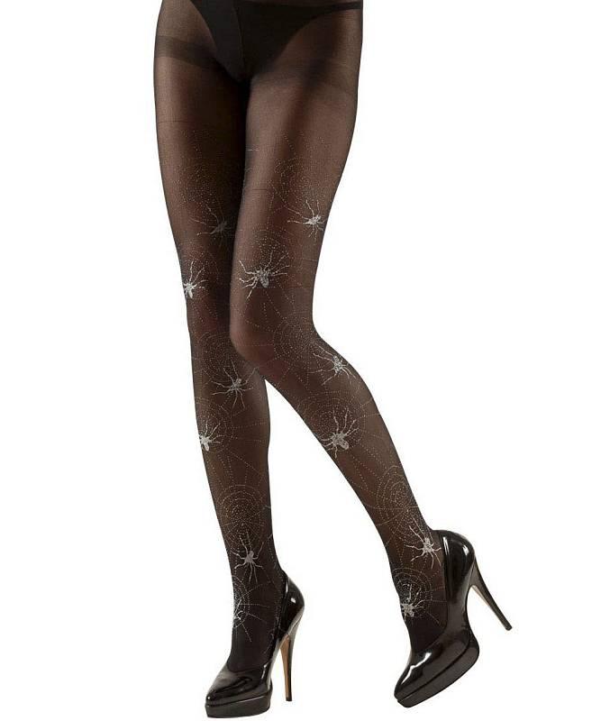 Collant-noir-motifs-araign�es