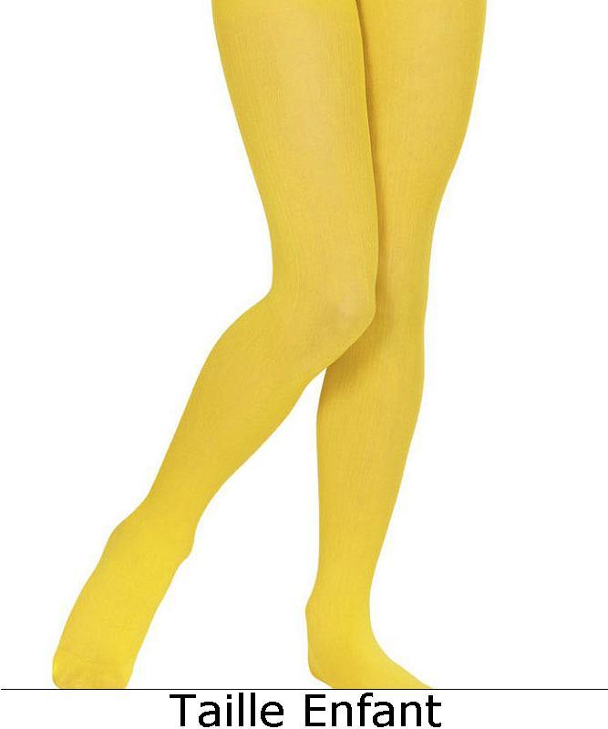 Collant-jaune-Enfant-M1