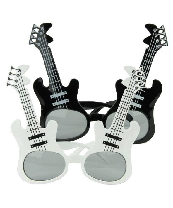 Lunettes-guitare