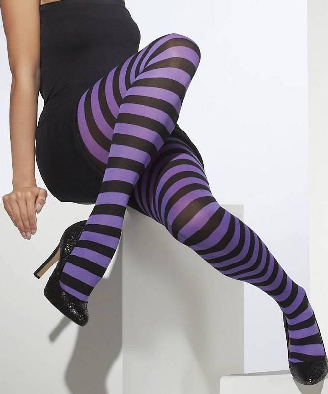 Collant-rayé-violet-M2