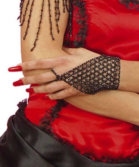 Gant-perles-noir