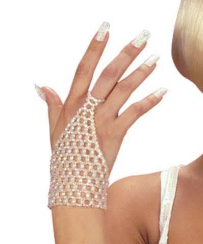 Gant-perles-blanc