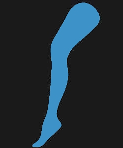 Collant-Bleu-Azur-Adulte