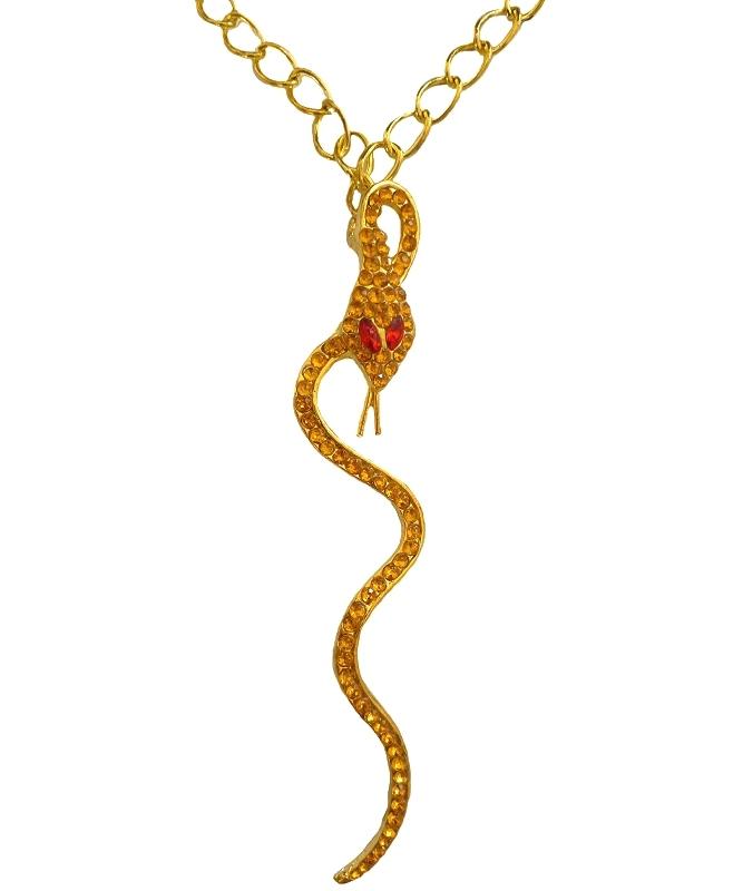 Collier-serpent