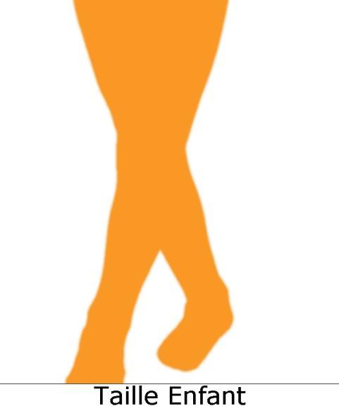 Collant-Orange-Enfant