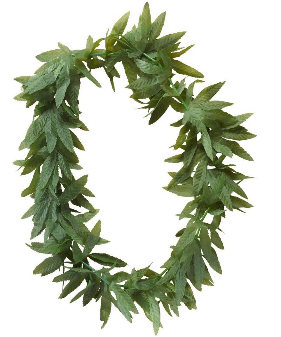 Collier-feuilles