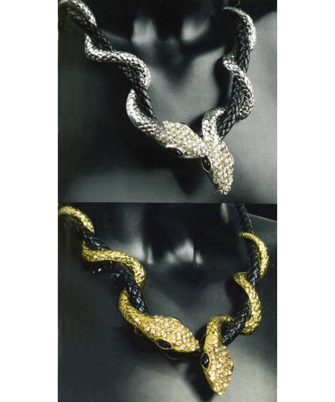 Collier-serpent