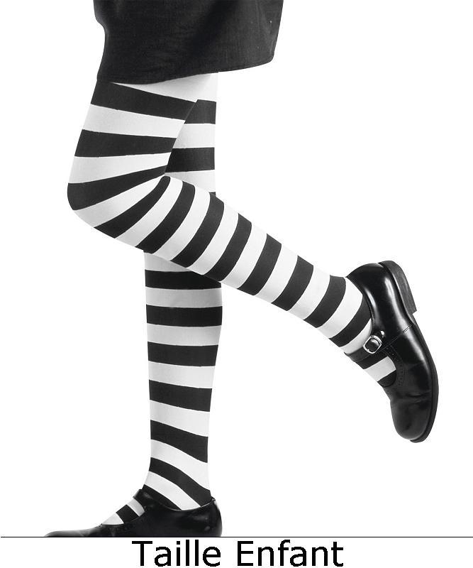 Collant-rayé-noir-et-blanc-enfant