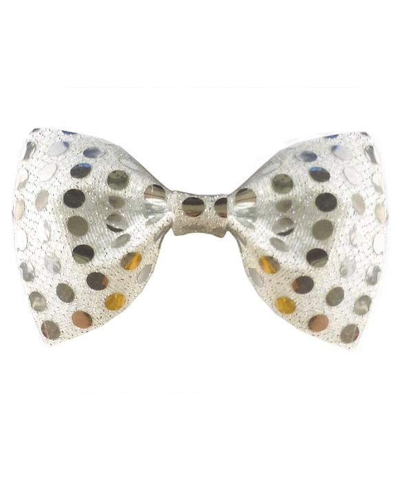 Noeud-papillon-paillettes-argent