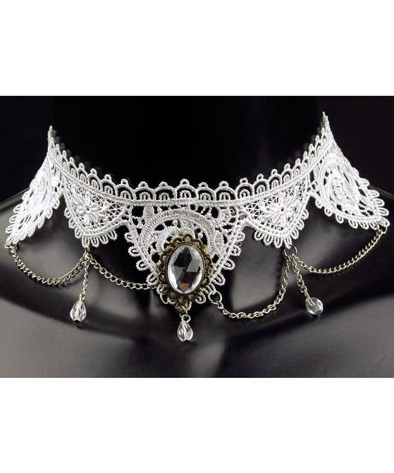 Collier-Marquise-Dentelle