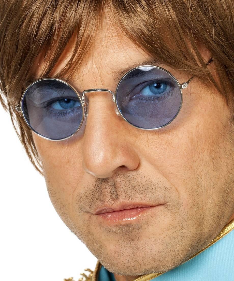 Lunettes-Lennon-bleues