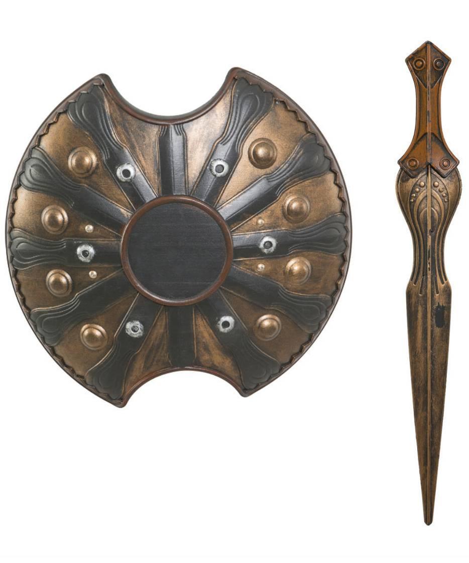 Bouclier-antique-avec-épée
