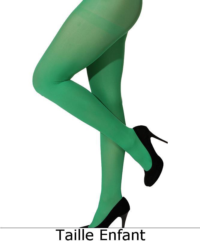 Collant-vert-enfant