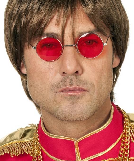 Lunettes-rondes-rouges-Lennon