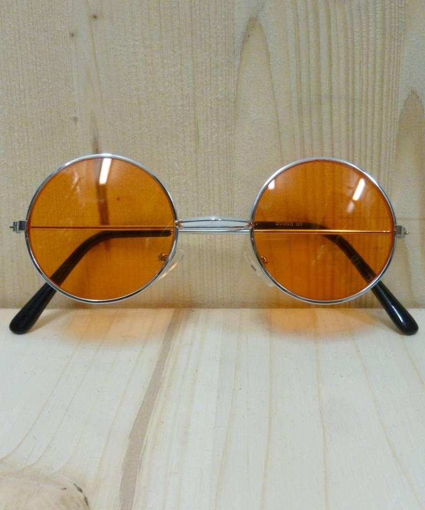 Lunettes-rondes-oranges-Lennon-2