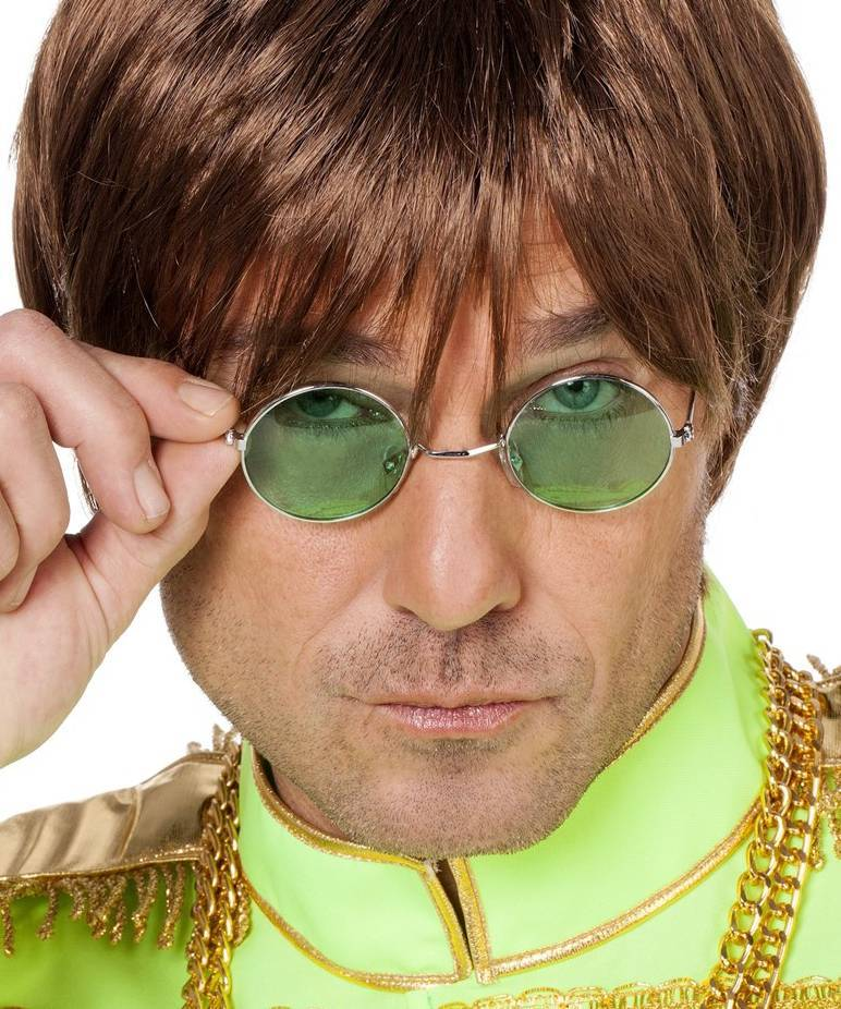 Lunettes-rondes-vertes-Lennon