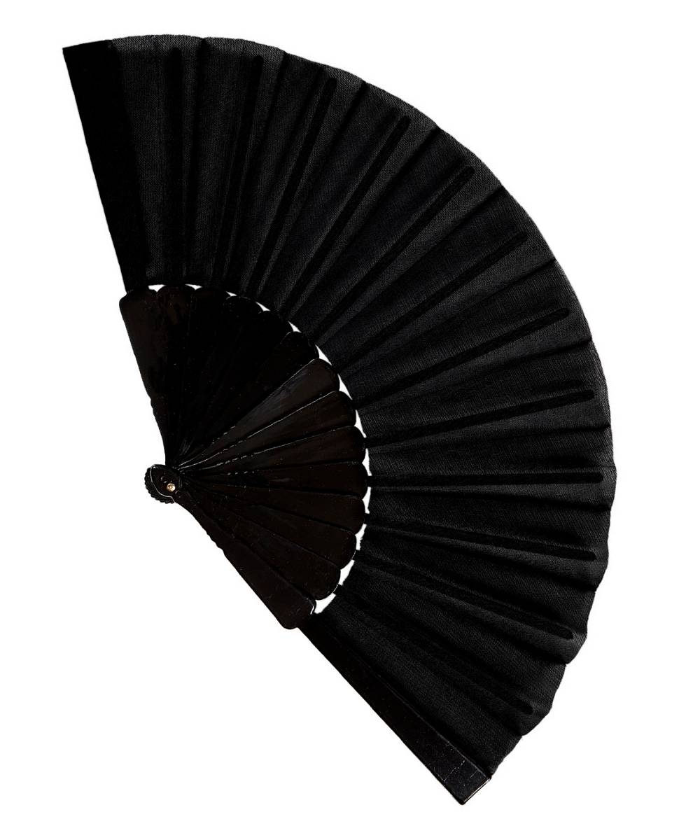 Eventail-noir-pas-cher