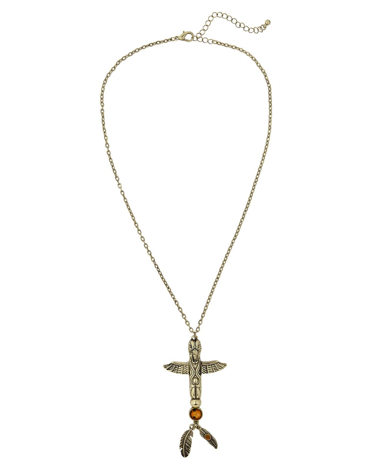 Collier-totem-indien