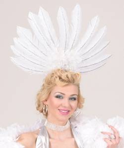 Coiffe-plumes-blanche