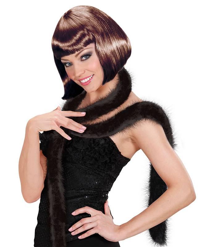 Marabout-plumes-noir