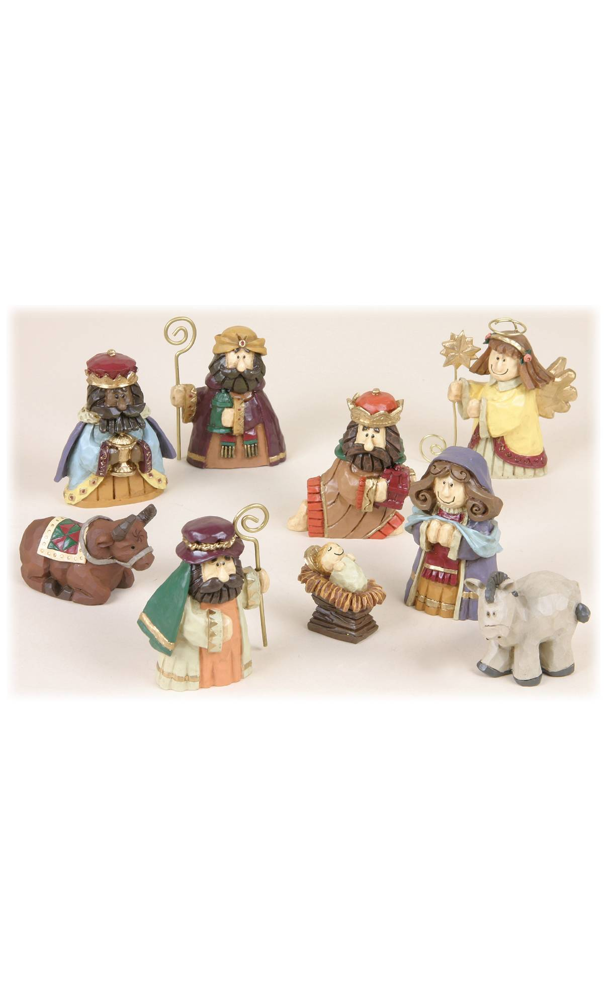 decoration de noel figurine creche vente par 9 voir les. Black Bedroom Furniture Sets. Home Design Ideas