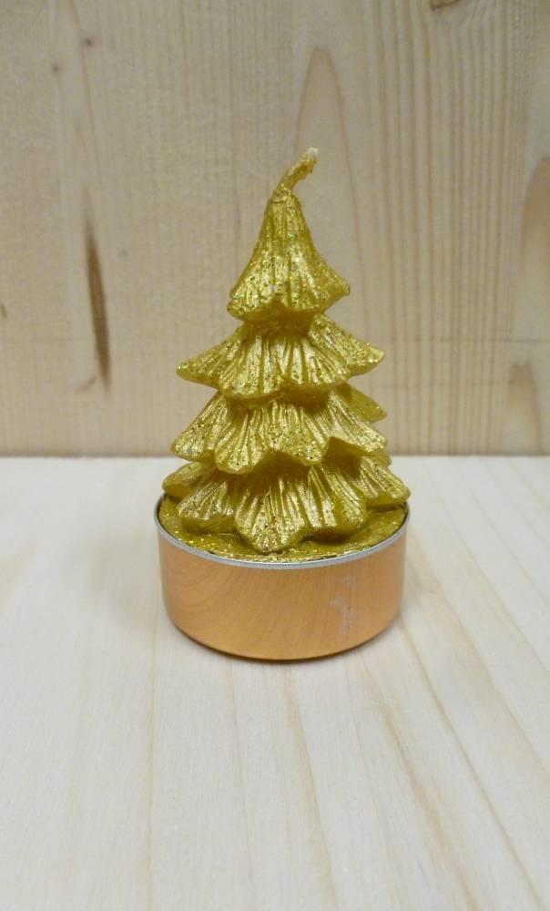 Bougie-de-Noël-décorative-en-forme-de-sapin