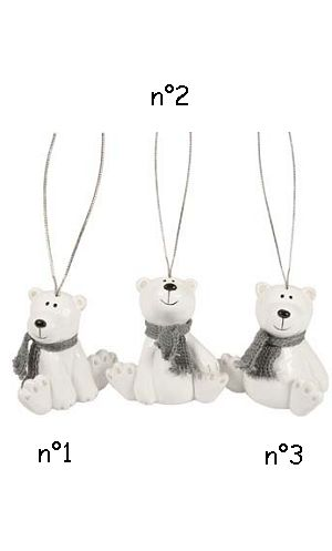 Décoration-de-Noël-Ours-faience-6cm