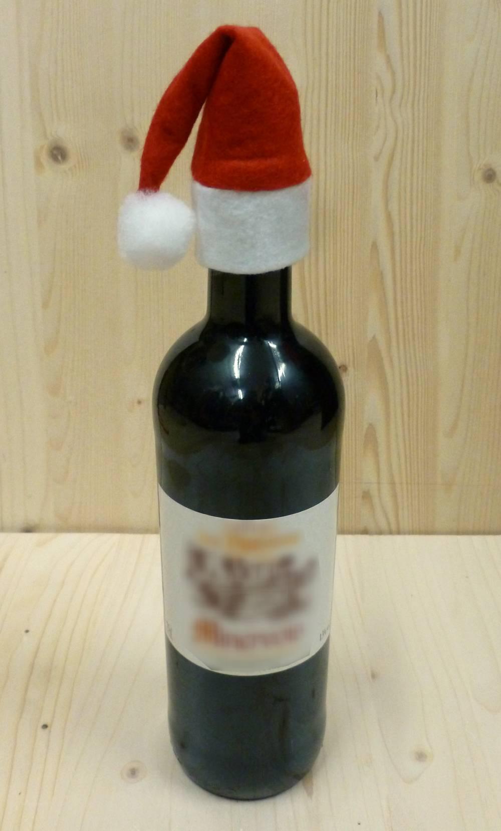 Bonnet-de-Noël-pour-bouteille-3
