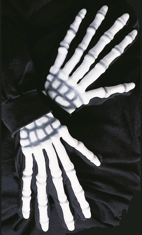 Gants-de-squelette-3D