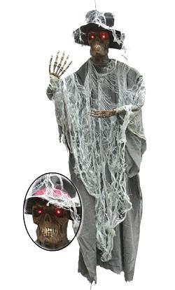 Décoration-Halloween-Fantôme-Vaudou-155cm