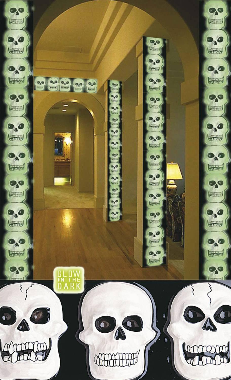 Décoration-Squelette-Horizontale
