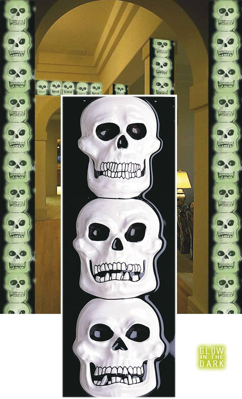 Décoration-Squelette-Verticale
