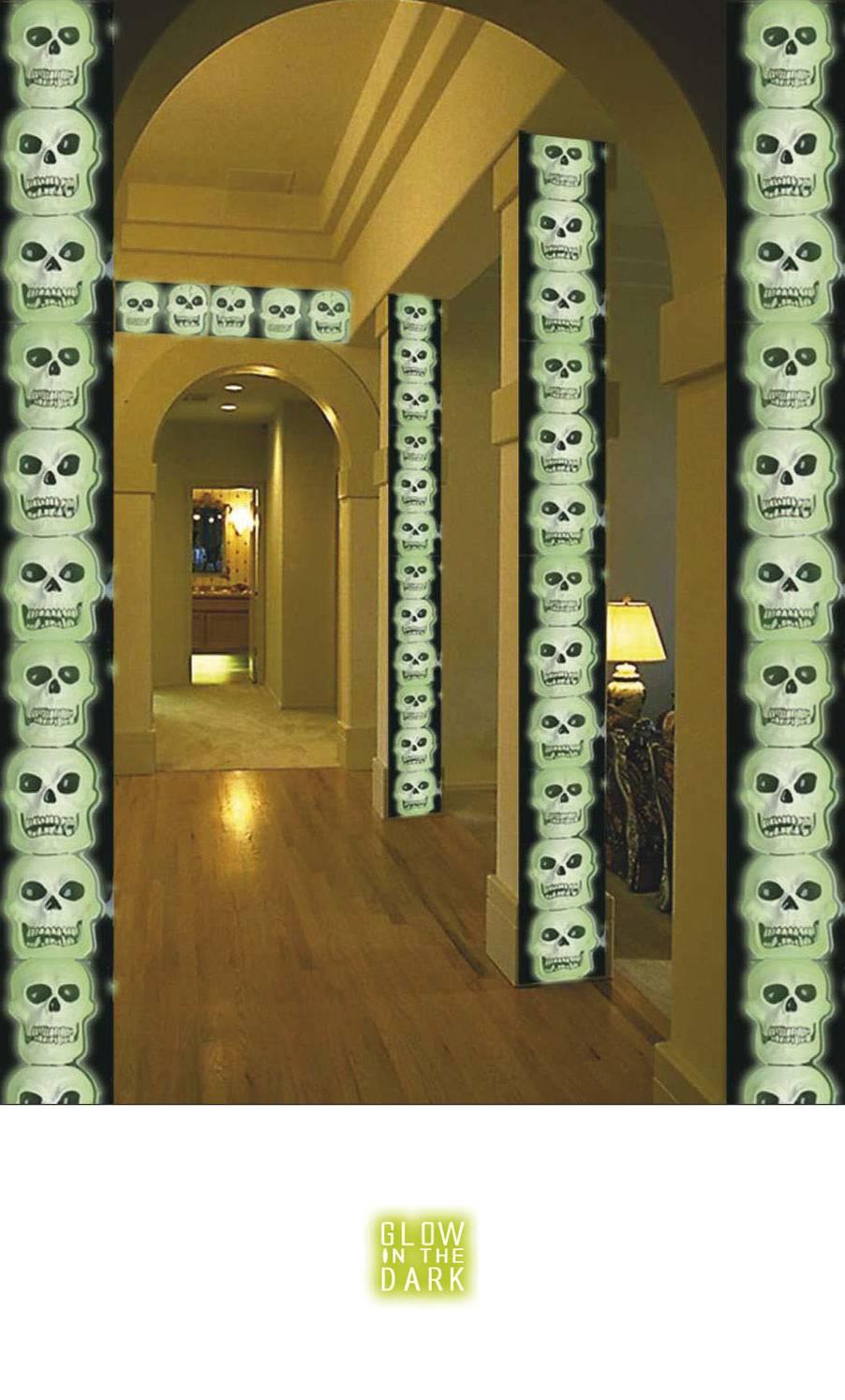 Décoration-Squelette-Verticale-2
