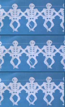 Guirlande-Squelette