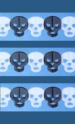 Guirlande-Skull