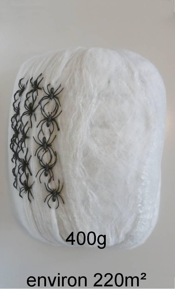 Toile araignées blanche 400g