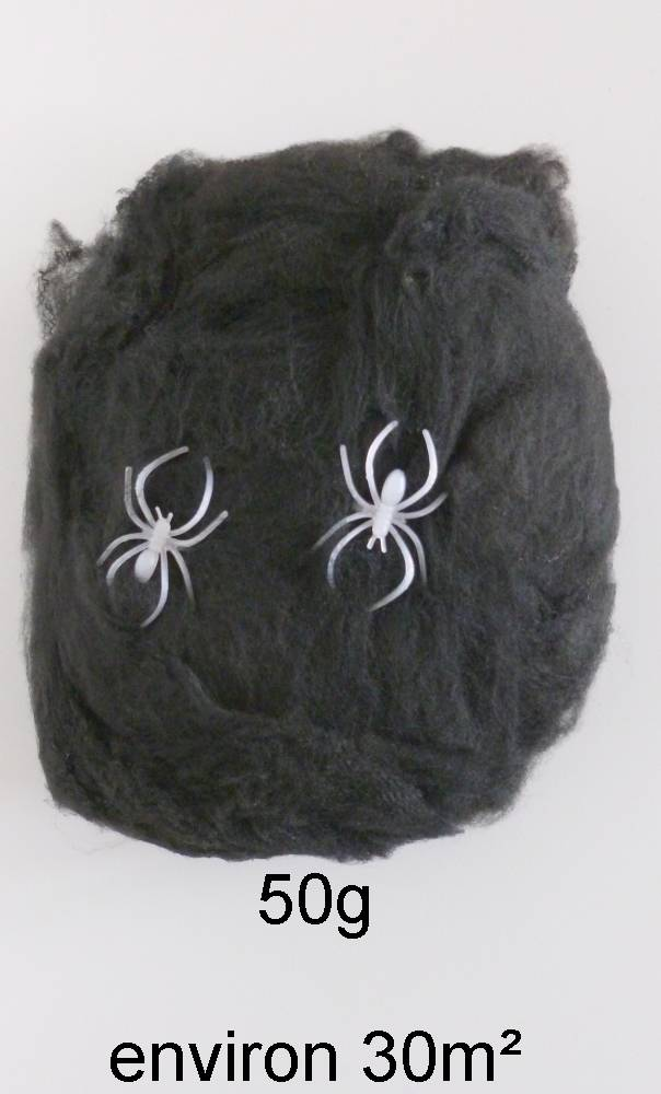 Toile-araignées-Noire-50g