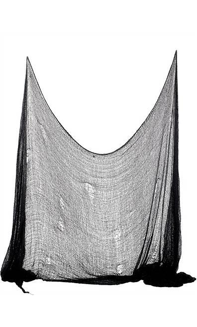 Décoration-Halloween-Filet-noir-75x300cm