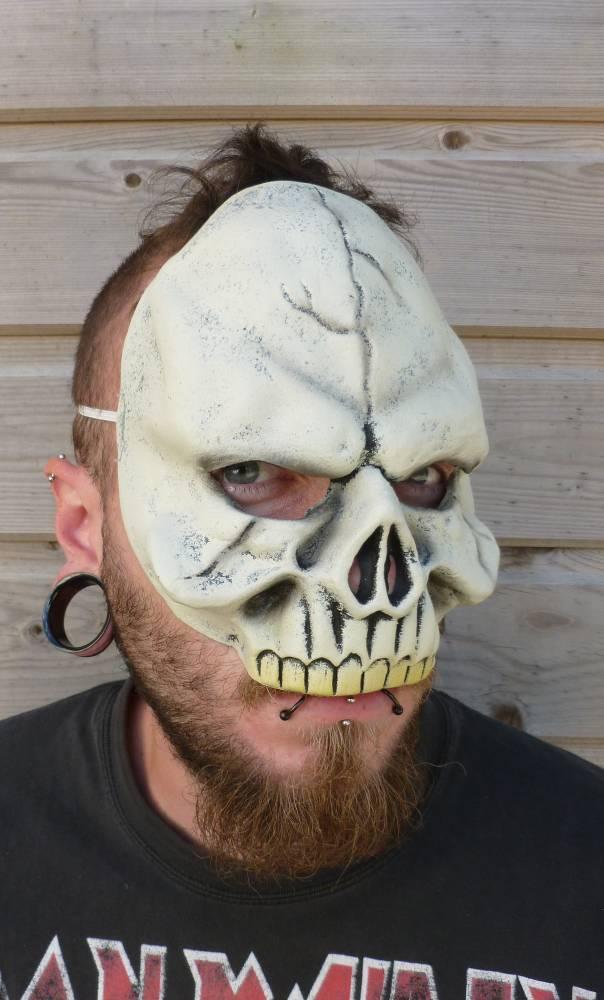 Demi-masque-Squelette