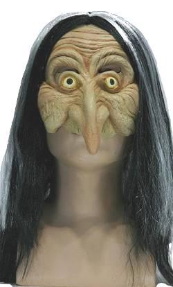 Masque-de-Sorcière-avec-cheveux