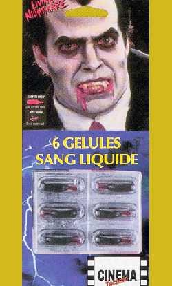 Gélules-sang