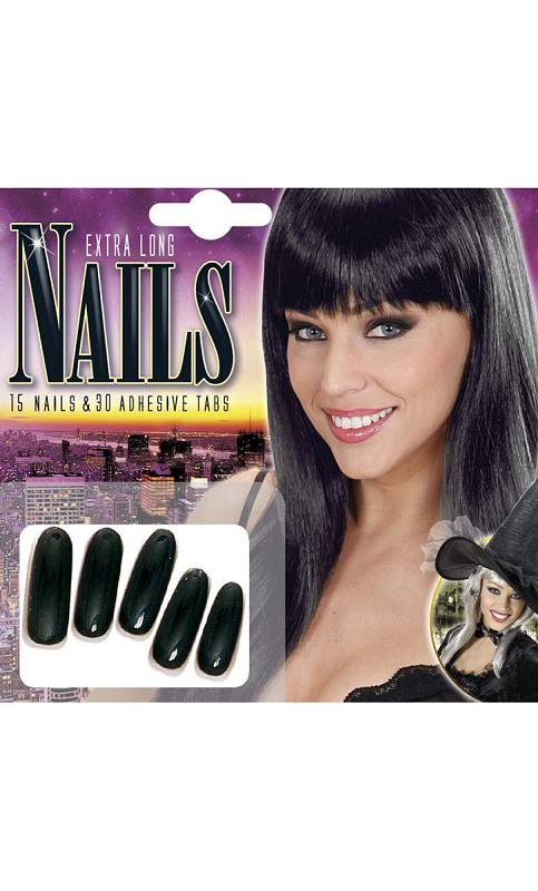 Faux-ongles-noirs
