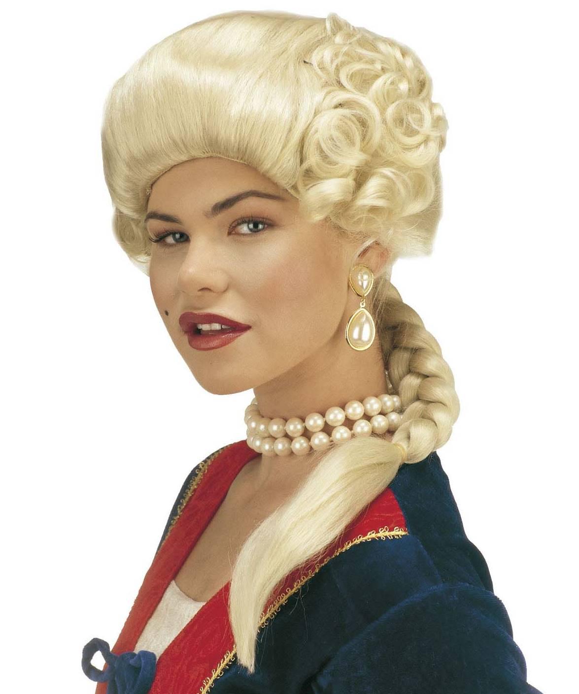 Perruque-Marquise-blonde-Jos�phine