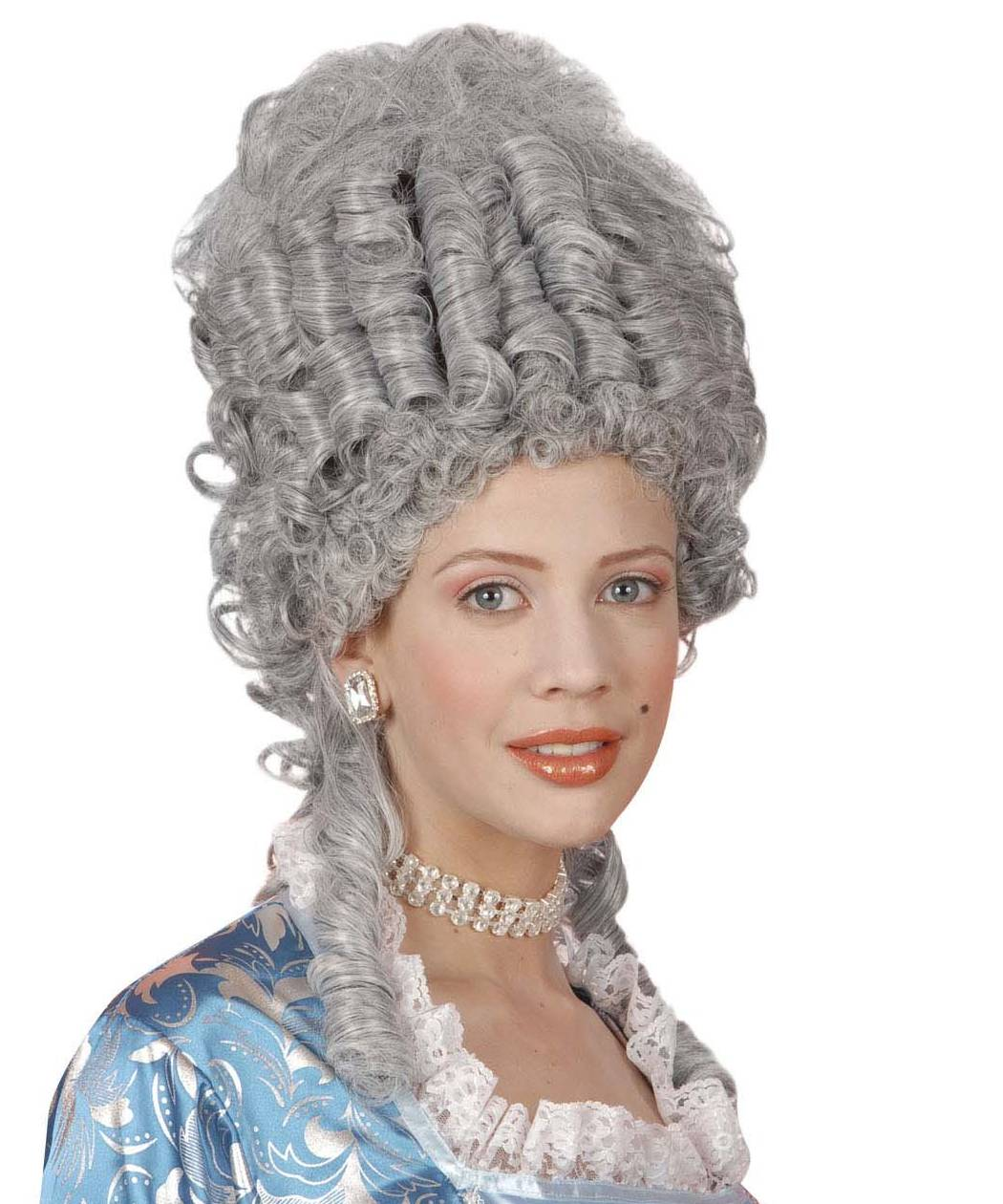 Perruque-Marquise-Marie-Antoinette-grise